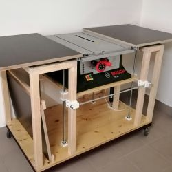 Variabler Maschinen-Tisch mit 3D-Teilen (Teil 1)