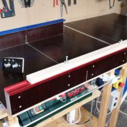 Variabler Maschinen-Tisch mit 3D-Teilen (Teil 2)
