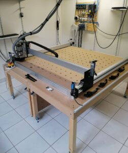 Read more about the article Portalfräse mit LinuxCNC