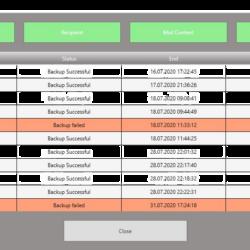 Chefs Backup Notification – E-Mail Überwachung des Windows Backups